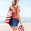 Пляжные сумки.