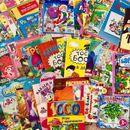 Уцененные журналы , игрушки и  канцелярия с любимыми героями.