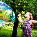 Шоу мыльных пузырей. Это так легко и весело