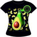 Распродажа прикольных светящихся футболок для него и для нее, до 66 размера-16