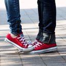 Любимые, модные кеды Сonverse, женская и мужская спортивная обувь-48