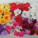 Букеты из искусственных цветов - 7.Закрываем ряды.