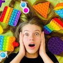 Новинка! Pop-it-игрушка, которая меняет цвет на солнце!
