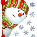 Новогодние декоративные наклейки на стекло!№5 По многочисленным просьбам