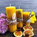 Медовые свечи - отличный презент к Новому году. Доставка 29 декабря.