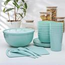 Пластиковая посуда - удобная посуда для путешествий