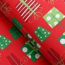 Упакуем новогодние подарки красиво со скидкой до -50%. Обертка для шоколада