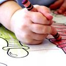 Раскраски, прописи и наклейки