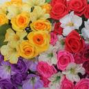 Букеты из искусственных цветов к Троице