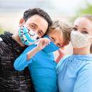 Оригинальные многоразовые маски для всей семьи,принты очень понравятся детям-6