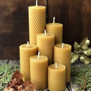 Медовые свечи - отличный презент к Новому году!