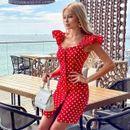 Красивое платье для солнечного лета №68- Размеры 42-68